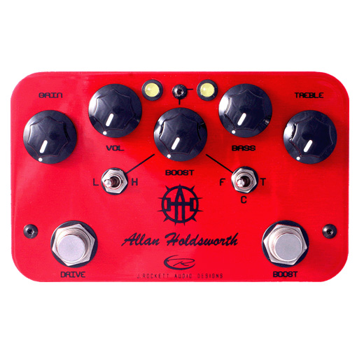 Allan Holdsworth Overdrive and Boost pedal
