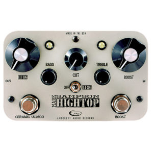HiTop Boost and EQ pedal