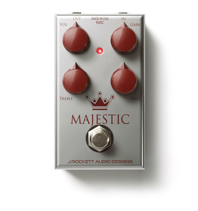 Brand NEW J.Rockett Audio Designs The Majestic Overdrive Pedal
